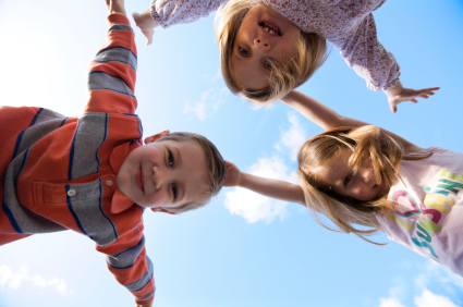Poland Syndrome Children Playing